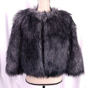 Michael Michael Kors Faux Fur Short Jacket